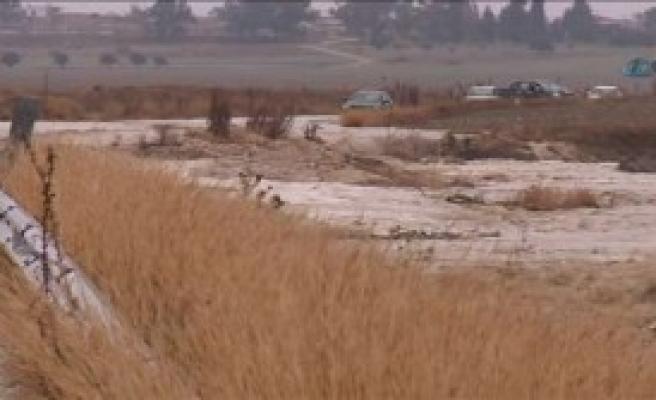 KKTC'de Sel Baskını