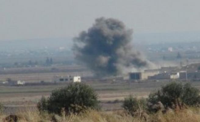 Koalisyon Uçakları IŞİD'i Bombaladı