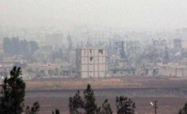 Kobani'de Çatışma Devam Ediyor