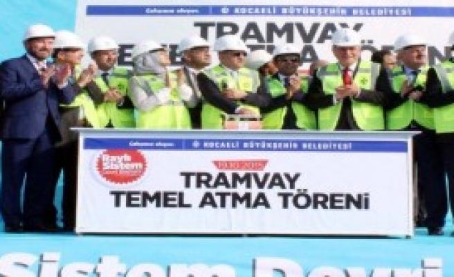 Tramvay Projesinin İlk Temeli Atıldı