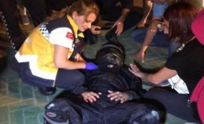 Üç Ayrı Kazada 3 Motosiklet Sürücüsü Yaralandı