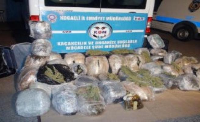 Kocaeli'nde 110 Kilo Esrar, 1 Tutuklama