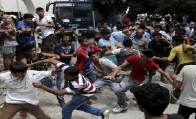 Kaçaklar Arasında Kavga Çıktı
