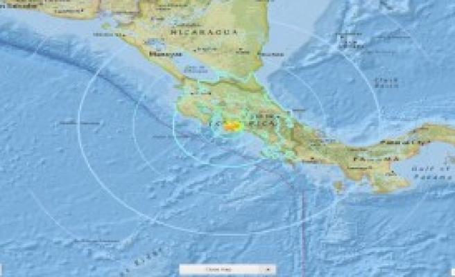 Kosta Rika'da Deprem