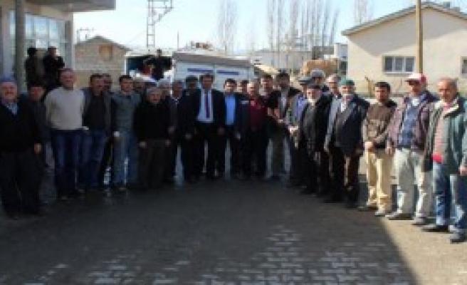 Suriye'deki Türkmenlere 'imece Usulü' Yardım