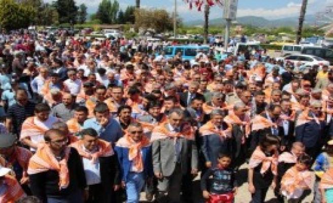 Kumluca'da Yörük Göçü Canlandırıldı