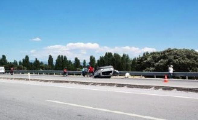 Kütahya'da Kaza: 5 Yaralı