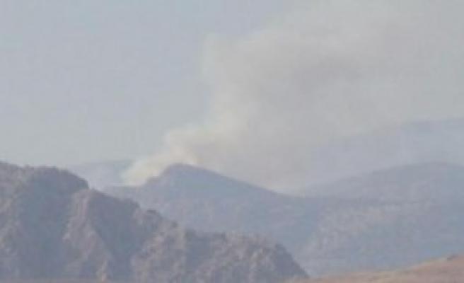 PKK'lılara Bomba Yağdı