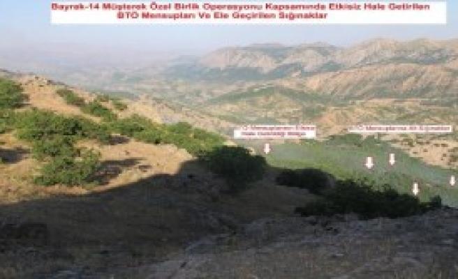 Lice'de 3 PKK'lı Etsiz Hale Getirildi
