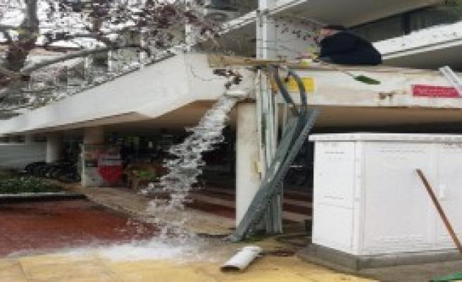 Manisa'da Fırtına ve Sağanak