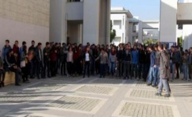 Mersin Üniversitesi'nde 25 Gözaltı