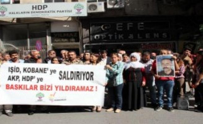 Mersin'de Kobani Eylemi