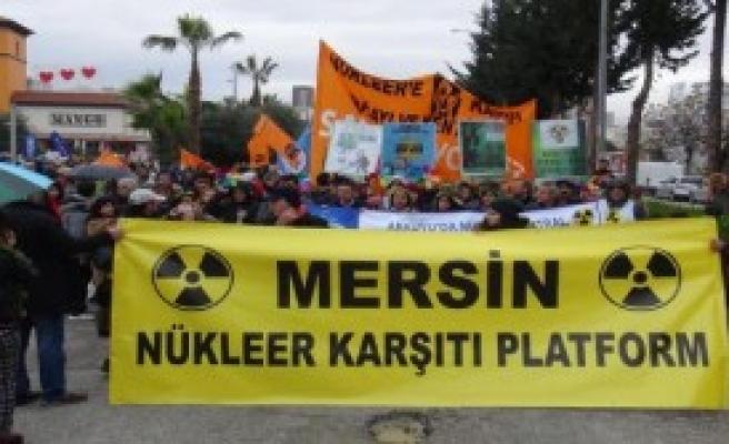 Mersin'de Nükleer Karşıtı Eylem