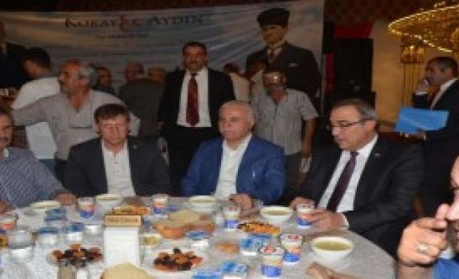 Aydın'dan Siyasi Partiler Yasasına Eleştiri