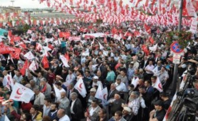Milli İttifak Sivas'ta Miting Düzenledi