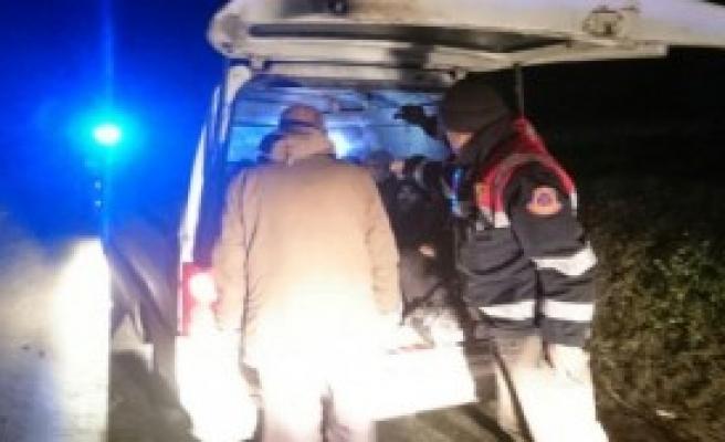 Minibüste 13 Kaçak Yakalandı
