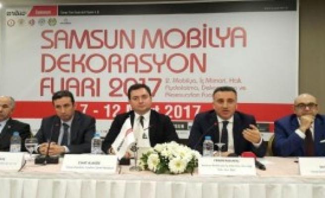 Mobilya Fuarı, Karadeniz İhracatına Güç Katacak