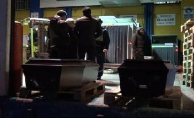 Moğol Gençlerin Cenazeleri Havalimanına Getirildi