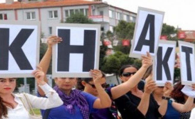 3 Kadın Cinayeti Protesto Edildi