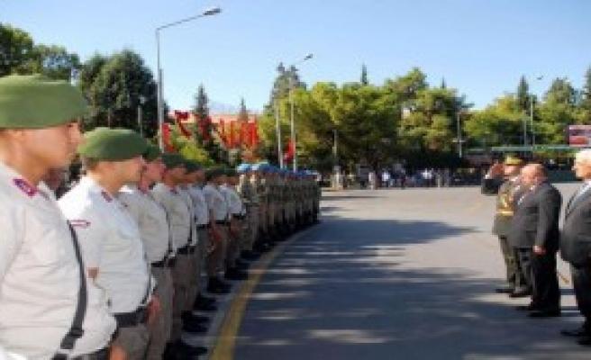 Muğla'da 30 Ağustos Törenle Kutlandı