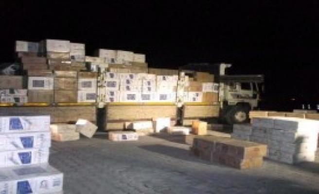 Muradiye'de Kaçak Sigara Operasyonu