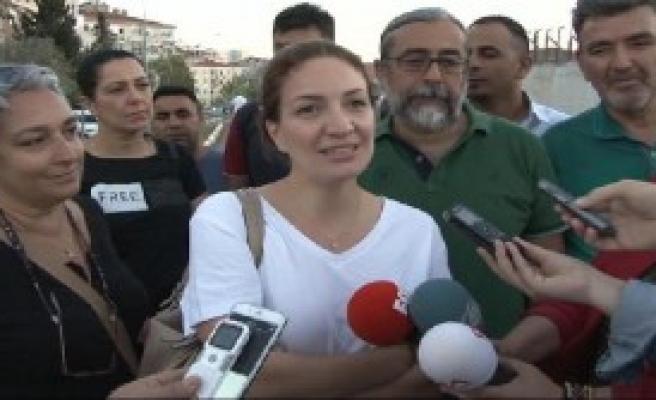 Murat Eren'in Eşi Cezaevine Geldi