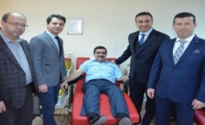 MÜSİAD'dan Kan Bağışına Destek