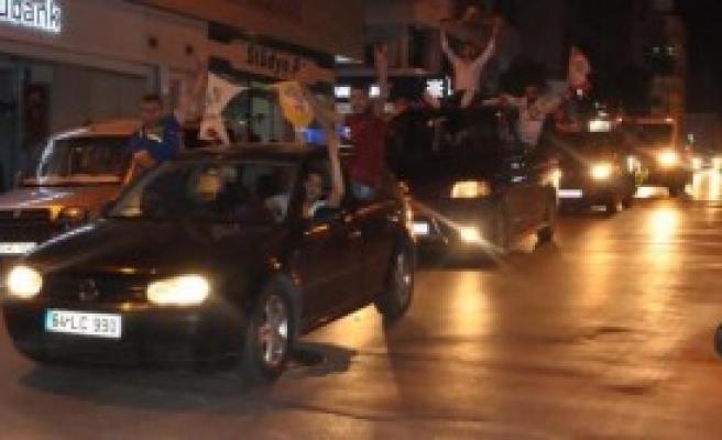Nazilli'de HDP'lilerin Baraj Konvoyu
