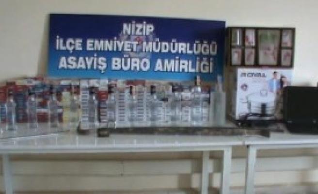 Nizip'te 3 Hırsızlık Şüphelisi Tutuklandı