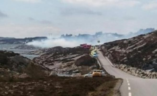 Helikopter Kazasında Kurtulan Olmadı