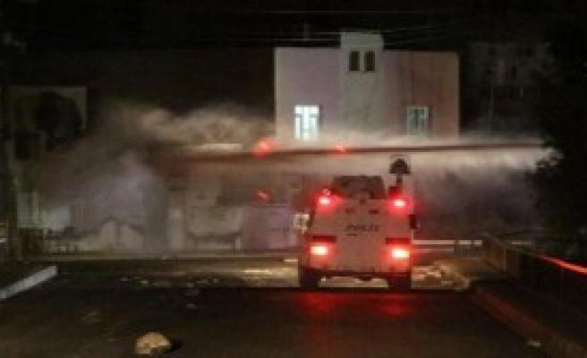 Nusaybin'de Gece Olaylar Çıktı