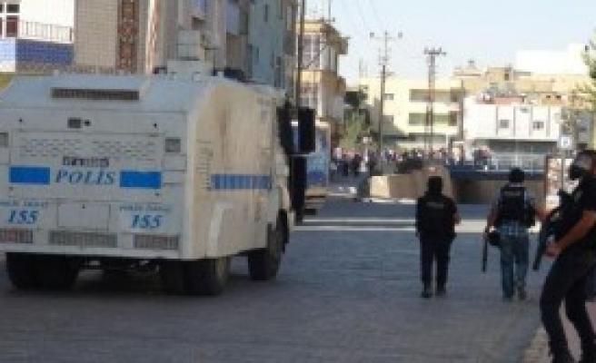 Nusaybin'de Olaylı IŞİD Protestosu