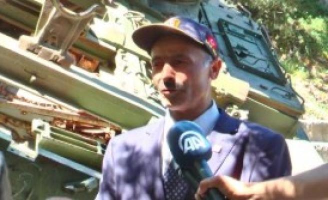Kahraman Tankçı Teröre Meydan Okudu