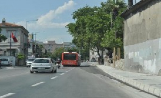İzmir'de O Yol Tamamlandı