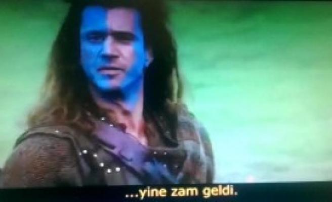 Mel Gibson'lı İmza Kampanyası