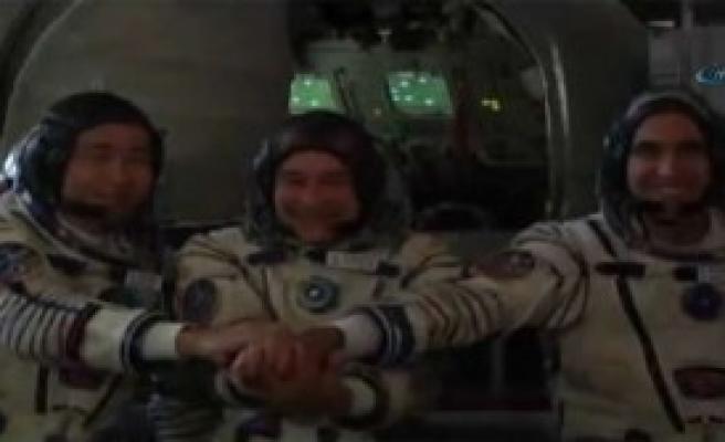 Olimpiyat Meşalesi Artık Uzayda!
