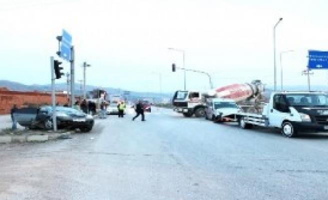 Osmancık'ta Kaza: 4 Yaralı
