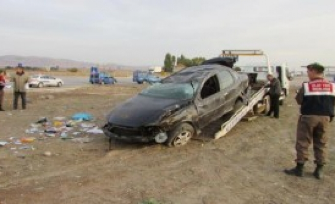 Sandıklı'da Feci Kaza
