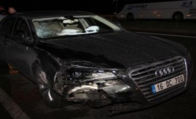 Sürücü Öldü Arkadaşı Yaralandı