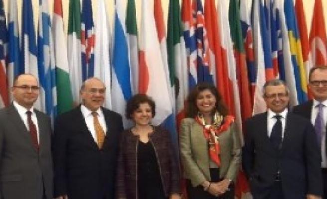 Paris'te Türk Heyeti Oecd Konsey Toplantısına Katıldı