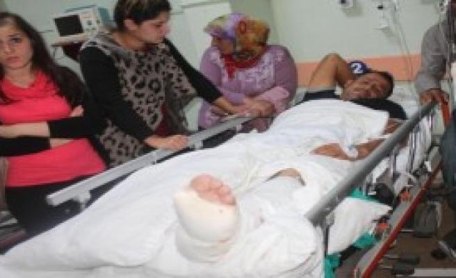 PKK'lılar, Arızadan Dönen Görevliyi Yaraladı