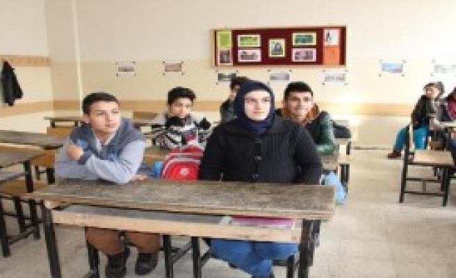 Yakılan Okuldan Türkiye Birincisi Çıkmış