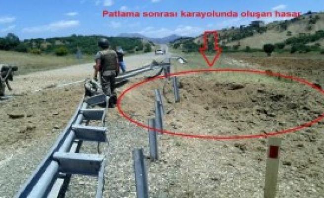 PKK'nın Tuzakladığı 200 Kilo Patlayıcı İmha Edildi