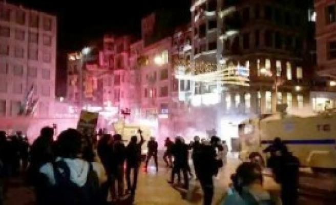 Galatasaray Meydanı'nda Müdahale