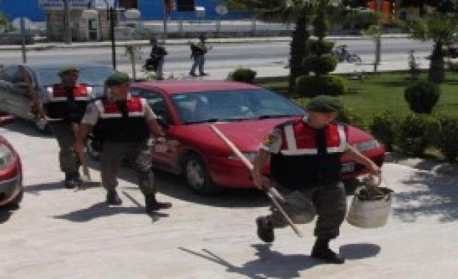 Polis Memuruna Kaçak Kazı Gözaltısı
