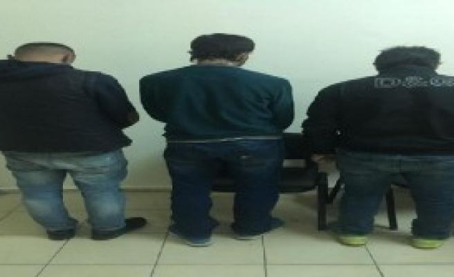 Gasp Şüphelileri Camide Yakalandı