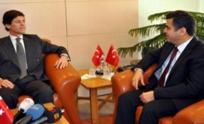 Portekiz Büyükelçisi, Kayseri'de