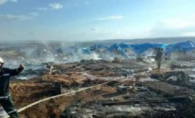 Sarmada Kasabasını Vuruldu: 60 Ölü