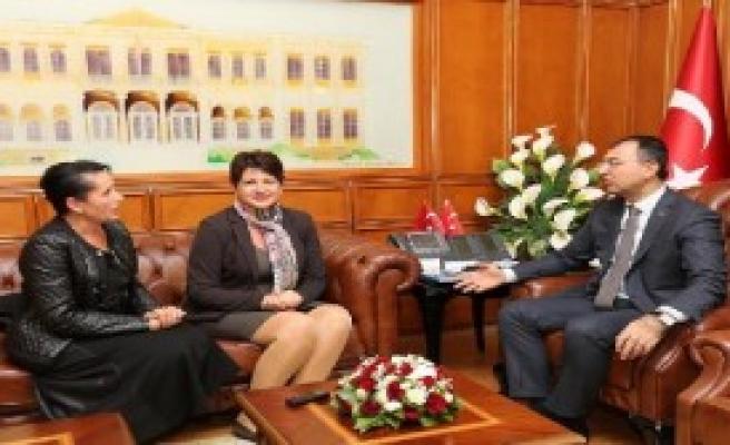 Romanya'nın Yeni İzmir Başkonsolosu