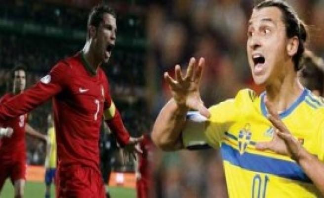 Ronaldo 3 - İbrahimoviç 2